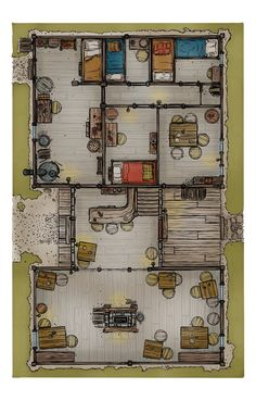 Fantasy City, Fantasy Map, Medieval Fantasy, Dungeons And Dragons Homebrew, D&d Dungeons And Dragons, Dnd World Map, Grimgar, Dragon House, Pathfinder Maps