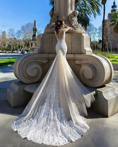 Crystal Design 2016 wedding dresses collection - Modern brides are sure to love every detail of these romantic and delicate wedding gowns. 2016 Wedding Dresses, Designer Wedding Dresses, Wedding Attire, Bridal Dresses, Wedding Gowns, Bridesmaid Dresses, Dresses 2016, Wedding Venues, Gorgeous Wedding Dress