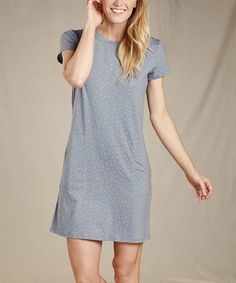 Made from soft, breathable organic cotton, this shift dress boasting a complementary hue is is sure to be your new favorite. Flint Stone, Woman Back, Hue, Organic Cotton, Dots, Shirt Dress, Shirts, Dresses, Women