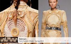 Balmain Spring 2013 collection