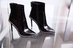 gr the new studded booties have stolen our heart! Link in bio to shop now! Jeffrey Campbell, Branding Design, Shop Now, Fall Winter, Booty, Woman, Heart, Link, Sexy