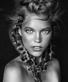 Gorgeous black and white photography and stunning braid work makes for a strong editorial hair image. See the full collection: https://industrieonline.com/editorial-hairdresser-extraordinairre-richard-kavanagh/?utm_campaign=coschedule&utm_source=pinterest&utm_medium=Industrie&utm_content=Editorial%20Hairdresser%20Extraordinairre%3A%20Richard%20Kavanagh