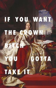 Queen Victoria is on that all fine list Queen Victoria (1859), Franz Xaver Winterhalter / All Your Fault, Big Sean feat. Kanye West