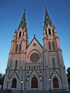 St John the Baptist Catholic Church in Savannah, Georgia