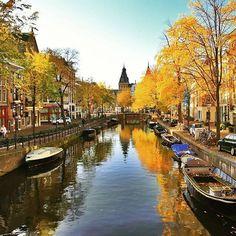Autumn in Haarlem, Netherlands