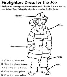 #Firefighter coloring page