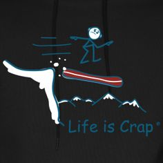 They have the foot straps for a reason. #Hoodies #Tees #LifeisCrap