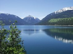 Wallowa Lake, Oregon.  I spent much of my childhood in a cabin at the head of the lake ...