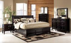 Queen Sleigh Bed with Storage - I really like this sleigh bed frame!