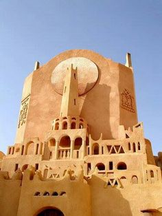 Beautiful  building from Wadi Mezab - Algeria