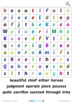 SEN Teacher ⋆ Home Page Printable Puzzles, Printables, Create Word Search, Puzzle Maker, Create Your Own, Create Yourself, Spelling Activities, Literacy, Teacher