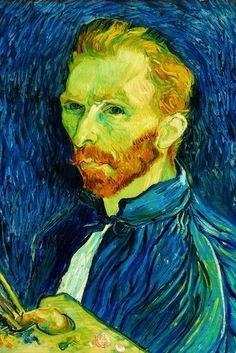 Self-Portrait 1889 II, by Vincent van Gogh