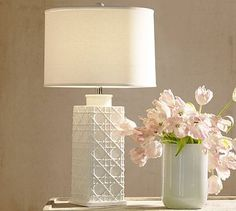 Ferah Ceramic Table Lamp Base #potterybarn
