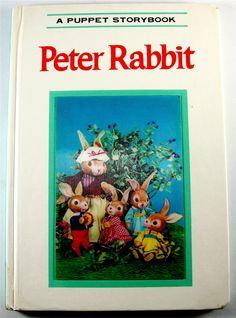 Vintage 1968 Izawa & Hijikata Puppet Book (Peter Rabbit-Beatrix Potter) 3D cover | eBay