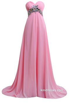 Sweetheart Empire Chiffon Long Bridesmaid Prom Dresses with Crystals http://www.ikmdresses.com/Sweetheart-Empire-Chiffon-Long-Bridesmaid-Prom-Dresses-with-Crystals-p88298