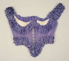 Lavender Corselet, Mid-19th Century.