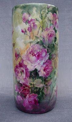 Barbara Jensen porcelain artist | Barbara Jensen , Imperial Russian Style Egg Marty Hill, Portrait of ...