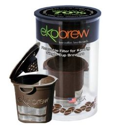 Ekobrew Refillable K-cup for Keurig K-cup Brewers 1 Pack) *** Wow! Check it out now! : K Cups