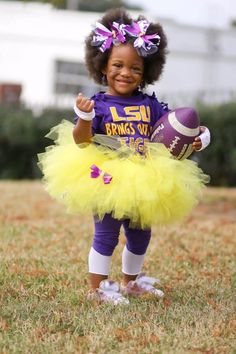 LSU LSU LSU.......... adorible. i love this school and the costums are cute.
