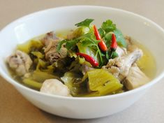 pickled mustard green soup with chicken more chinese soups asian soups ...