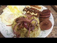 Mangu, Huevo, Queso, Salami Y Cebolla (COMPLETE TUTORIAL) - YouTube