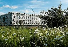 Completed in 2015 in Odense M, Denmark. The Technical Faculty is part of the University of Southern Denmark (SDU) in Odense, and constitutes a shared research and education environment for. A As Architecture, Contemporary Architecture, Innovative Research, Win Competitions, University Of South, Glass House, Architect Design, Beautiful Buildings, Green Building