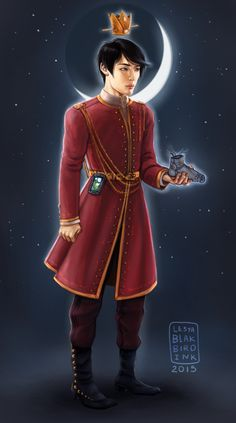 @marissa_meyer #TheLunarCronicles Prince Kaito this sort of got out of hand have a shinny prince.