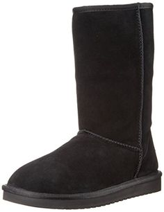FLY London Leather Tall Shaft Boots Hean Womens Espresso Brown EU37 US 6-6.5 New