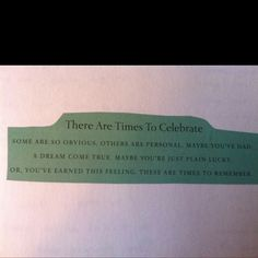 Tiffany's truths.  Perfect for favors.