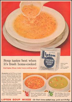 LIPTON SOUP MIXES - GOOD HOUSEKEEPING 05/01/1957