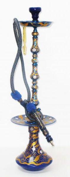 Shisha Luxury Diamante bleu