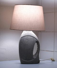 laundry detergent bottle shaped lampstand to never forget your laundry again
