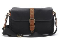 ONA: The Bowery camera bag and insert in Black $119