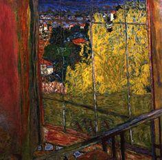 Pierre Bonnard, L'Atelier aux mimosas. Paris, Musée national d'art moderne.