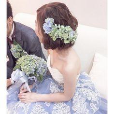 「あれ髪切ったの?」と思わせる♡ボブ風ブライダルヘアアレンジ特集♩ | marry[マリー] Lace Wedding, Wedding Dresses, Wedding Hairstyles, Instagram, Fashion, Bride Dresses, Moda, Bridal Gowns, Fashion Styles