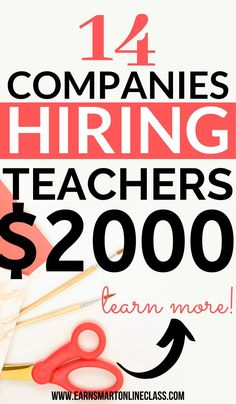 Check out the best online tutoring jobs for teachers and college students. If you are retired or a qualified teacher, you can get paid to teach online! Online Surveys For Money, Online Income, Earn Money Online, Earning Money, Ways To Earn Money, Earn Money From Home, How To Make Money, Best Online Jobs, Online Jobs From Home
