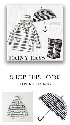 """""""Rainy Days"""" by tailormadelady ❤ liked on Polyvore featuring Abercrombie & Fitch, ShedRain, Kamik, Boots and raincoat"""
