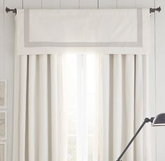 valance + drapery  love it !