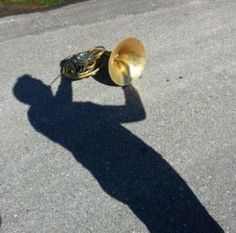 Funny pictur with shadow