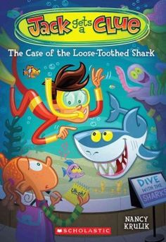The case of the loose-toothed shark / by Nancy Krulik ; illustrated by Gary LaCoste. When a giant shark tooth fossil went missing during my little sister Mia's birthday party at the aquarium, I found myself in really deep water -- the aquarium staff accused me of stealing it! No way would I steal something, even if it was a cool fossil. What I could do, though, was talk to the animals at the aquarium to find out who the real thief was.