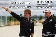 F1 Memes - Michael Schumacher, Nico Rosberg, Kimi Raikkonen