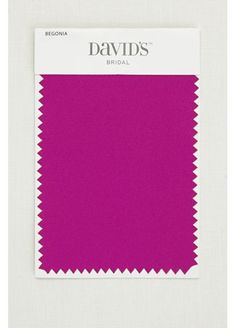 Begonia Satin Fabric Swatch SMLSWATCHBEGO