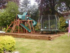 Stunning Outdoor Playground Areas Ideas For Child 03 Childrens Play Area Garden, Kids Outdoor Play, Outdoor Play Areas, Backyard For Kids, Indoor Play, Backyard Games, Outdoor Games, Backyard Ideas, Diy Playground