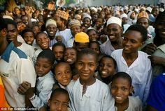 By 2050, the global population will rise from 7.3 billion to 9.7 billion and by 2100, Africa's current population of 1.2 billion is expected to explode to 5.6 billion (stock image of Nigerians pictured). The predictions were made by  the director of the United Nations Population Division at the 2015 Joint Statistical Meetings in Seattle