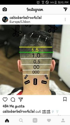 29 Outstanding Hair Clippers Edgers For Men Hair Clippers Wahl Cordless Barber Haircuts, Haircuts For Men, Hair Cut Guide, Pelo Hipster, Hair Cutting Techniques, Gents Hair Style, Barbers Cut, Faded Hair, Hair Tattoos