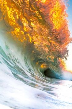 "0ce4n-g0d: ""...Wave in on FIRE!!! by Keith Muraoka"""