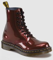 8-Eyelet Dr. Martens Cherry Red Patent Leather - $130.00