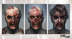 Some of the concept art I've created for the game Dying Light. Last two are overpaints of models (still based on my designs) created by Przemek Mirowski & John Siomin. Creature Concept Art, Creature Design, Life Is Strange, Character Concept, Character Design, Monster Hunter Series, Zombie Monster, Beast Creature, Survival