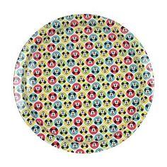 Mickey Mouse Spotty Round Tin Tray