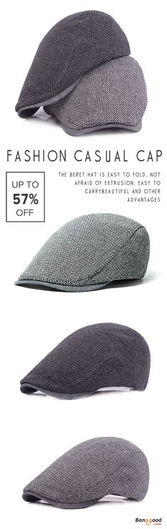 US$8.39+Free shipping. Men's Cap, Men's Fashion, Beret Hat, Golf Hat, Baseball Hat, Cabbie Hat. Unisex, Material: Cotton. Color: Black, Grey, Navy. Love casual and outdoor style. Shop now~